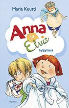 Anna ja Elvis kylpylässä -kirjan kansi