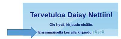 Tervetuloa DaisyNetiin