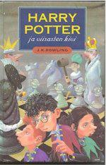 Harry Potter ja viisasten kivi -kirjan kansi