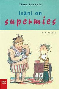 Supermies-kirjan kansi