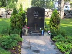 Muualle haudattujen muistomerkki
