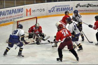 jääkiekko-ottelu