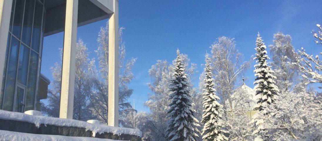 kunnantalo talvi