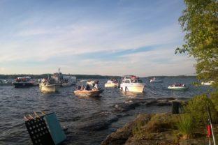 puulan iltasoitto veneitä